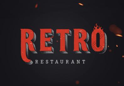 Retro restaurant – مطعم ريترو