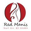 Red Manis – Nail Art By Hama